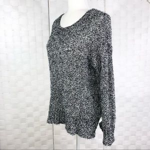 AMERICAN EAGLE OUTFITTERS Scoop Neck Soft Cozy Sweater Top Long Sleeve Size S